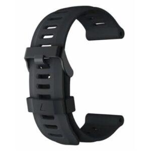 Black Fenix 3 Compatible Watch Strap