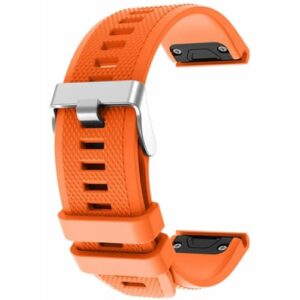 Orange Fenix 5 Compatible Watch Strap