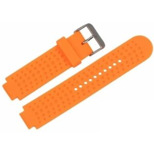 Orange Forerunner 220 Compatible Watch Strap