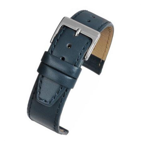 Mayfair Subtle Blue Calf Stitched Watch Strap