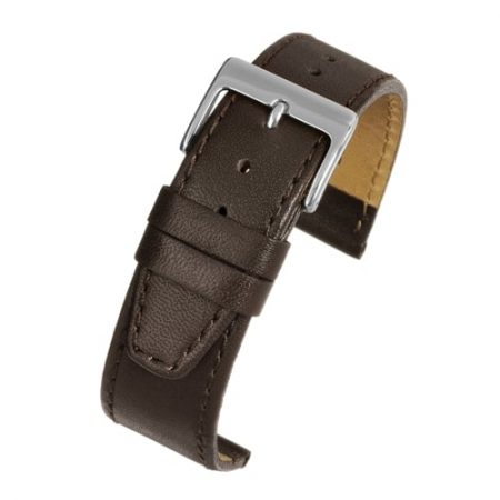 Mayfair Subtle Brown Calf Stitched Watch Strap