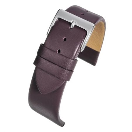 Windsor Smooth Purple Calf Watch Strap