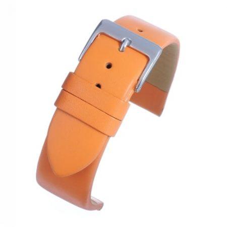 Windsor Smooth Orange Calf Watch Strap