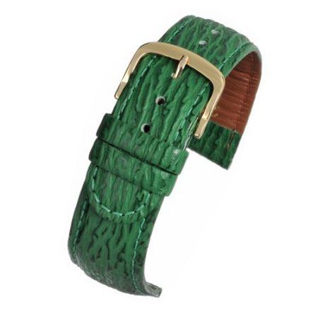 Shark Grain Green Padded Watch Strap Main Range