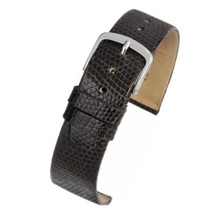 Brown Italian Genuine Lizard Watch Strap Premium Range
