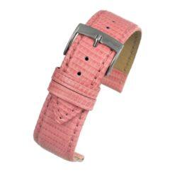 Autentico Light Pink Italian Genuine Lizard Watch Strap