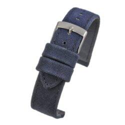 Weaverham Fibre Blue Fabric Watch Strap
