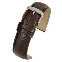 Henley Superior Brown Gloss Watch Strap