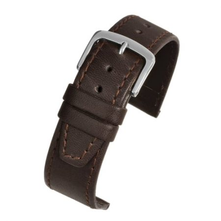 Brown Leather Water Resistant Watch Strap Main Range
