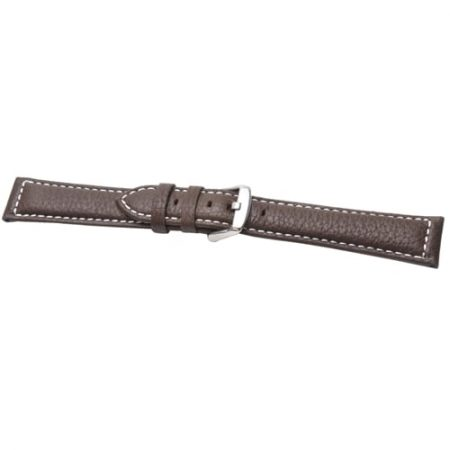Heavy Cut Brown Extra Extra Long Watch Strap