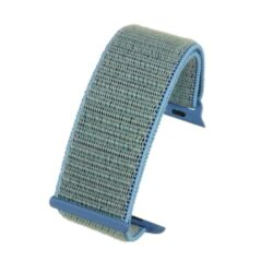 Blue Fabric Compatible Apple Watch Strap