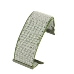 Grey Fabric Compatible Apple Watch Strap