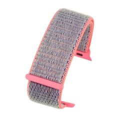 Purple Fabric Compatible Apple Watch Strap