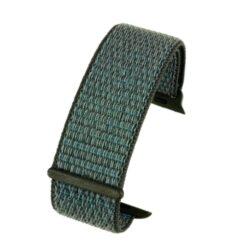 Dark Grey Compatible Fabric Apple Watch Strap
