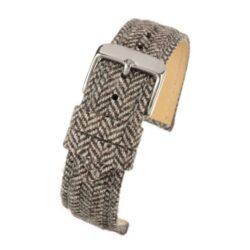 Sandbanks Tweed Brown Watch Strap