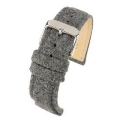 Sandbanks Tweed Grey Watch Strap