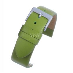 Lime Green Calf Leather Watch Strap