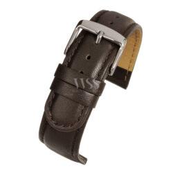 Brown Padded Calf Watch Strap Main Range