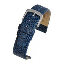 Lizard Grain Blue Watch Strap Main Range