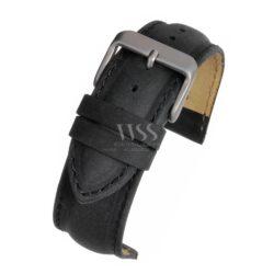 Kensington Suede Black Padded Watch Strap