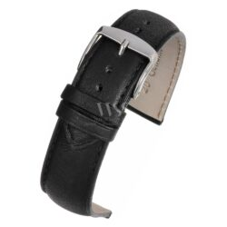 Henley Superior Calf Black Supple Watch Strap