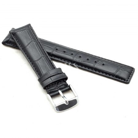 Black Classic Crocodile To Fit IWC Watches