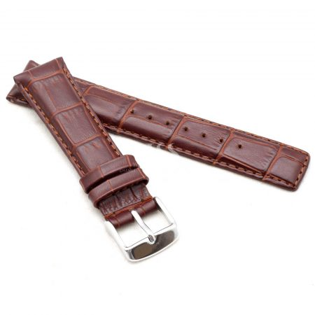 Dark Brown Classic Crocodile To Fit IWC Watches