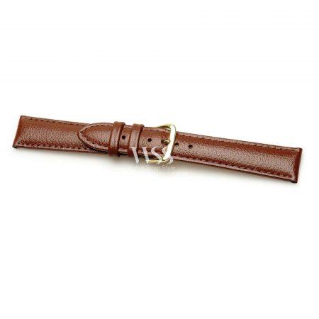 Windsor Buffalo Grain Brown Padded Watch Strap