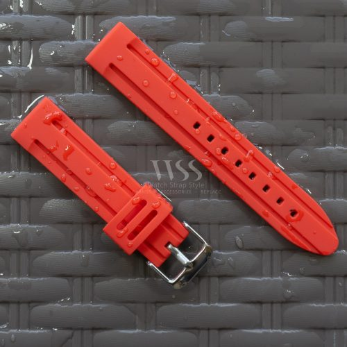 Submerge Limit Silicone Red