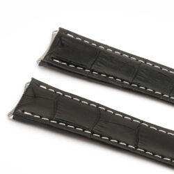 Tag Heuer 6000 Series White Stitch Watch Strap