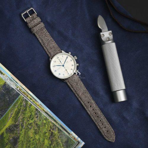 Sandbank Tweed Brown Watch Strap