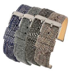 Sandbank Tweed Watch Straps