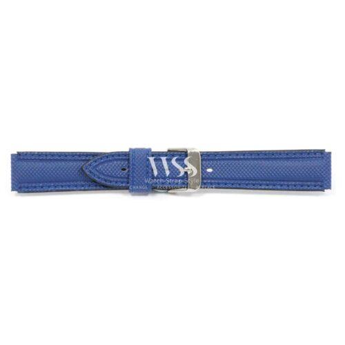 Submerge Stitched Blue Waterproof Watch Strap