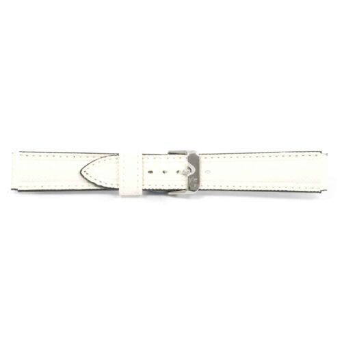 Submerge Stitched White Waterproof Watch Strap