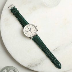 Autentico Green Italian Genuine Crocodile Watch Strap