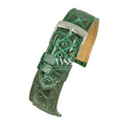 Autentico Emerald Italian Genuine Crocodile Watch Strap