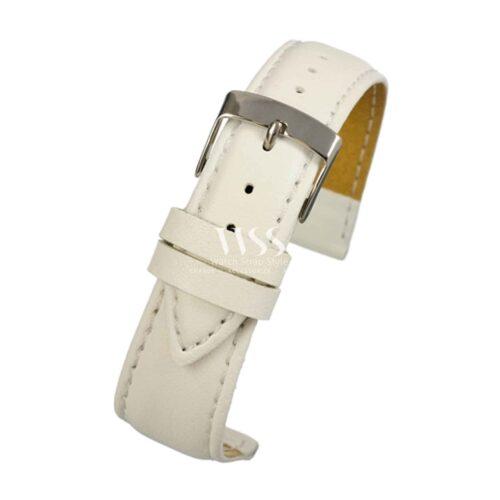 Mimic Nature Leather Free White Watch Strap
