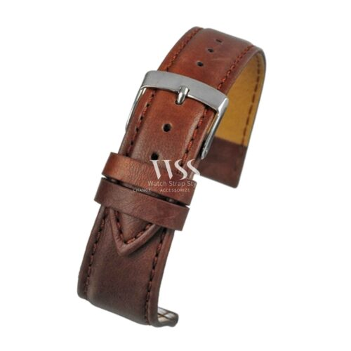 Mimic Nature Leather Free Brown Watch Strap