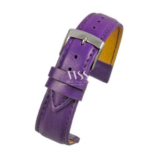 Mimic Nature Leather Free Purple Watch Strap