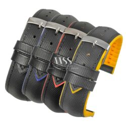 Anthracite Performance Water Resistant Watch Straps