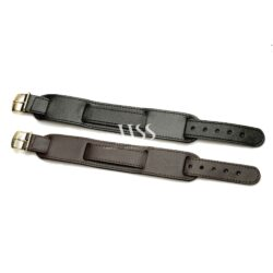 Military Bund Style Calf Leather Watch Straps