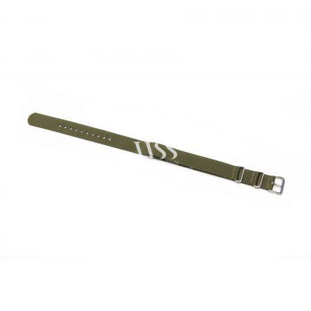Weaverham Nato Green Nylon Watch Strap