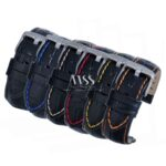 Silverstone Loop Quick Release Stitched Leather Watch Straps