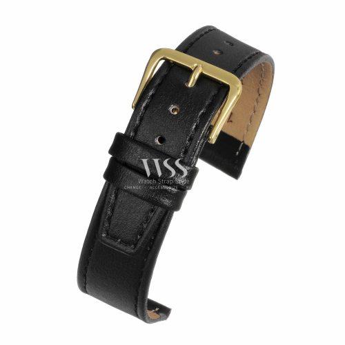 Windsor Calf Value Black Watch Strap