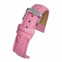 Windsor Pretty Pastel Pink Lizard Grain Watch Strap