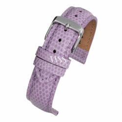 Windsor Pretty Pastel Purple Lizard Grain Watch Strap