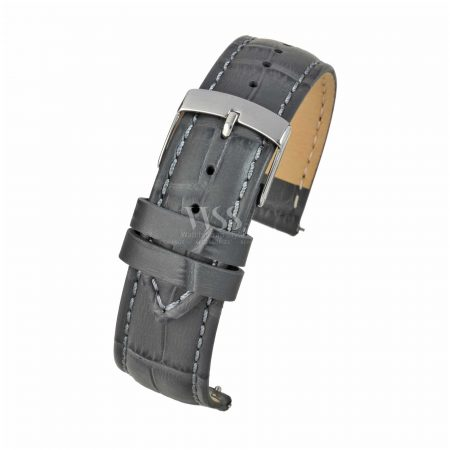 Mayfair Super Grey Quick Release Watch Strap