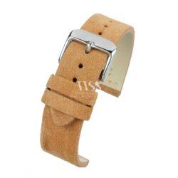 Kensington Napped Suede Tan Watch Strap