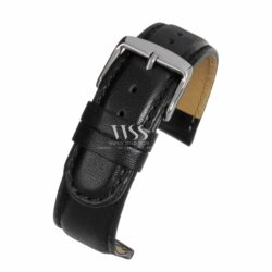 Henley Extended Extra Long Black Watch Strap