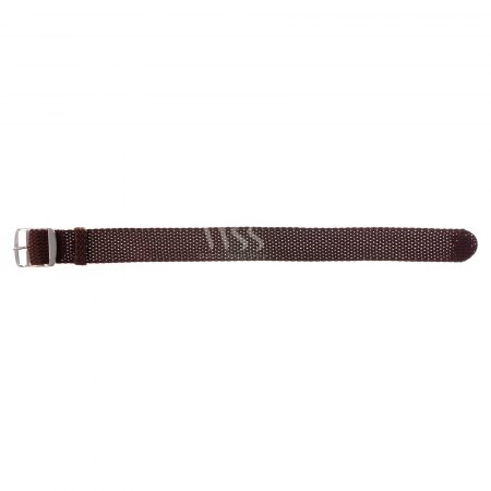 Weaverham Braid Brown Nylon Watch Strap